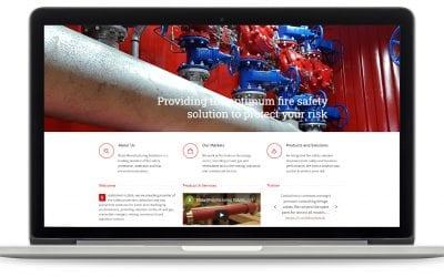 Screenshot of Blaze's website